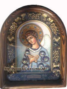 Икона Ангела бисером