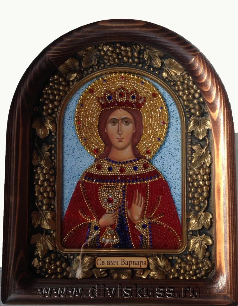 Икона Варвара святая великомученица
