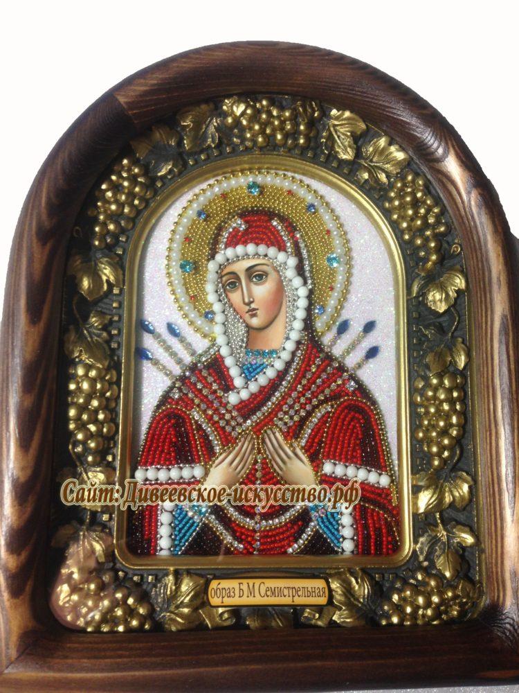 Икона Богородицы Семистрельная