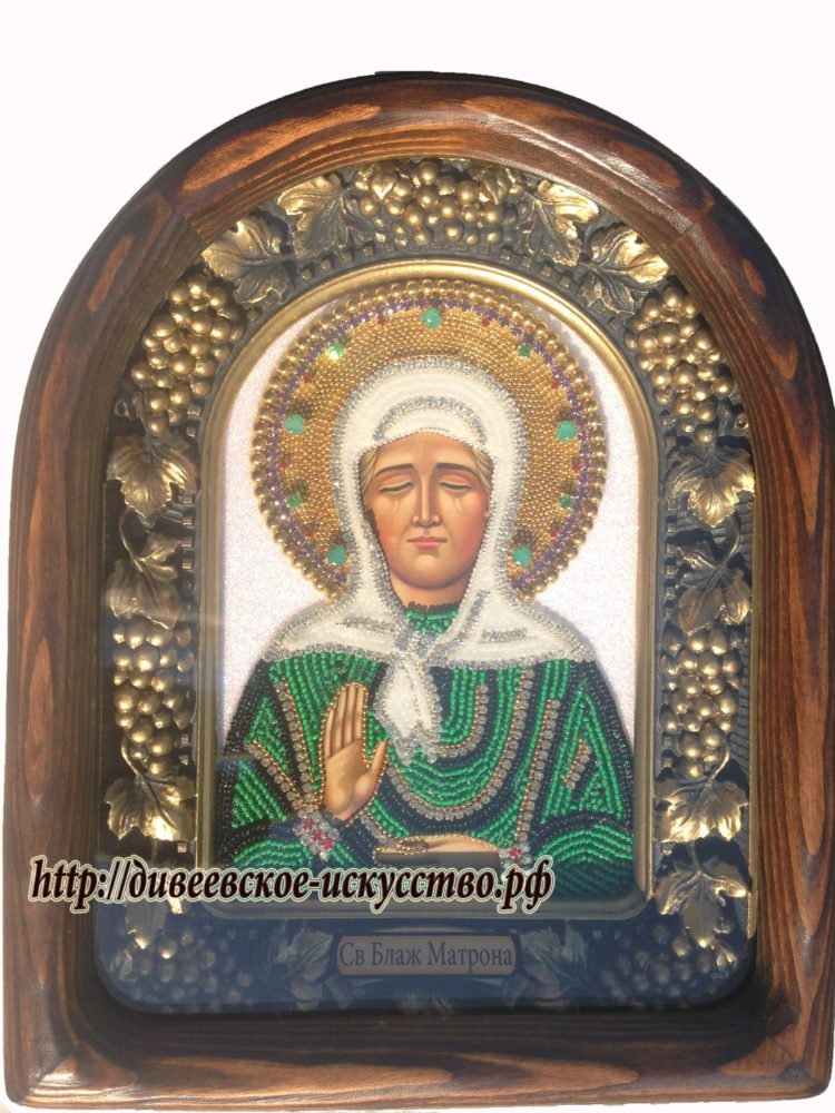 Матрона молитва и икона