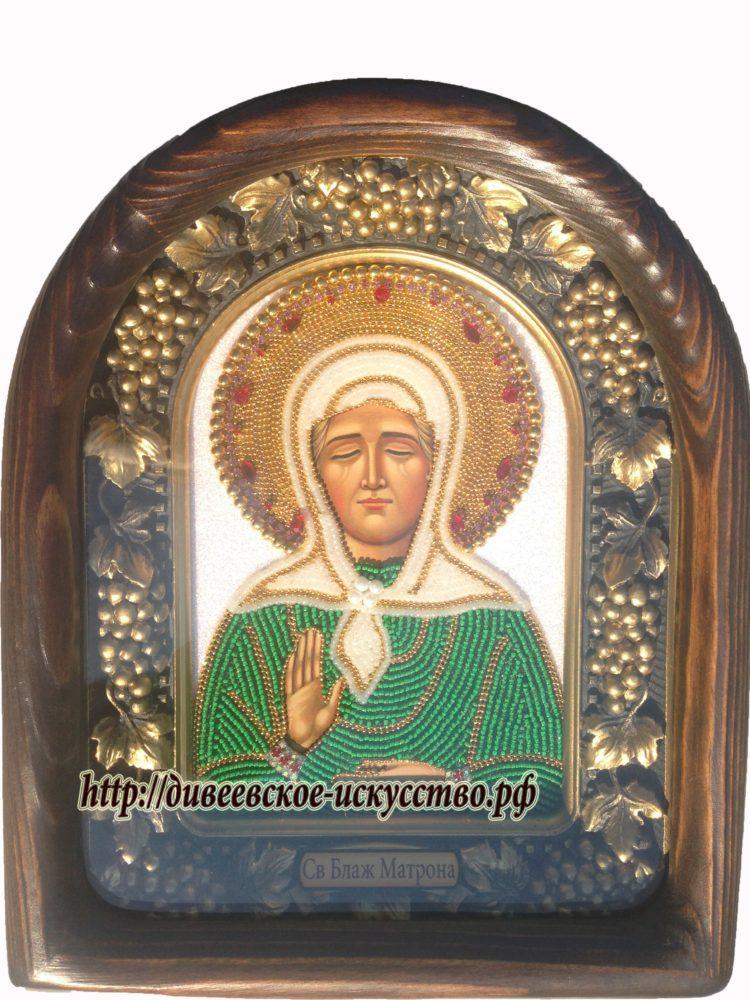 Блаженная Матрона Московская Дивеевская икона