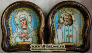 Икона Умиление и Серафим