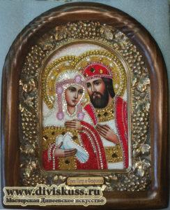 Петр Феврония купить икону