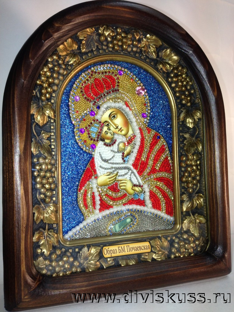образ Богоматери Почаевская